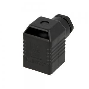 """Штекер для клапана 3-х контактный """"черный"""" 210319 фирмы DUNGS"""