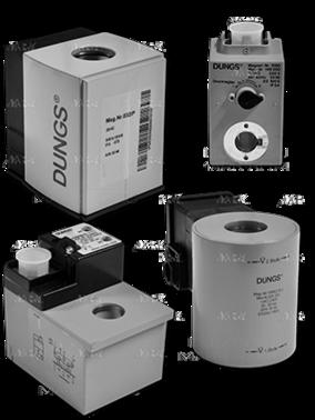 Электромагнитные катушки (Magnet Nr.) для мультиблоков №1150 224429 фирмы DUNGS